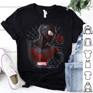 Marvel Puzzle Quest Spider-man Miles Morales Graphic Shirt
