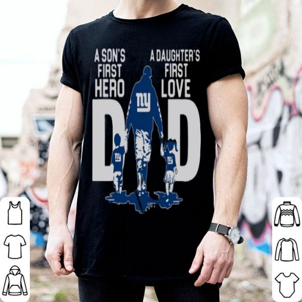 New York City A Son's First Hero A Daughter's First Love Dad Shirt