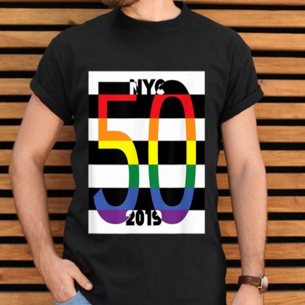 Pride March Riots 50th NYC Gay Pride LGBTQ Rights Pop shirt
