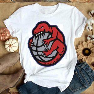 Raptor Dinosaur Beat The Basketball Toronto Raptors Shirt