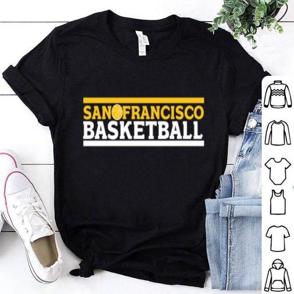 Sanfrancisco Basketball Golden State Warriors Shirt