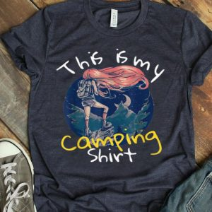 This Is My Camping Vintage Camping For Girl shirt