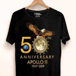 50th Anniversary Apollo 11 moon landing Pride Awesome shirt