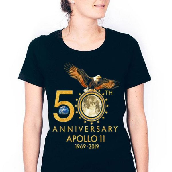 50th Anniversary Apollo 11 moon landing Pride Awesome shirt