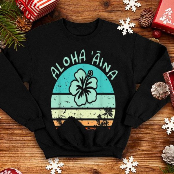 Aloha Aina Love Of The Land For Hawaii Hippies shirt