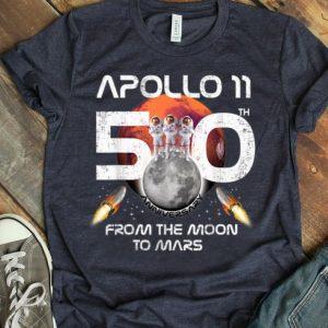 Apollo 11 50th Anniversary 2019 Event Moon Landing Retro shirt
