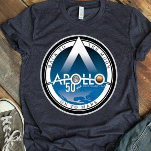 Apollo 11 50th Anniversary Emblem Design - NASA Space shirt