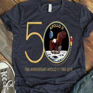Apollo 11 50th Anniversary Moon Landing 1969-2019 Apollo 11 Mission shirt