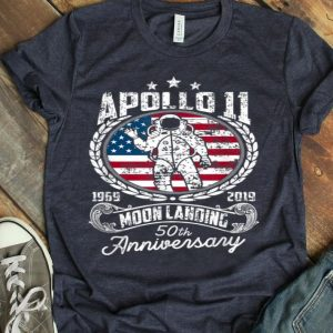 Apollo 11 50th Anniversary Moon Landing 1969-2019 Giant Leap Of Human shirt