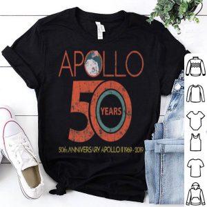 Apollo 11 50th Anniversary Moon Landing 50 Years Science Tee shirt