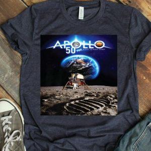 Apollo 11 50th Anniversary Poster Design - NASA Space Giant Leap shirt