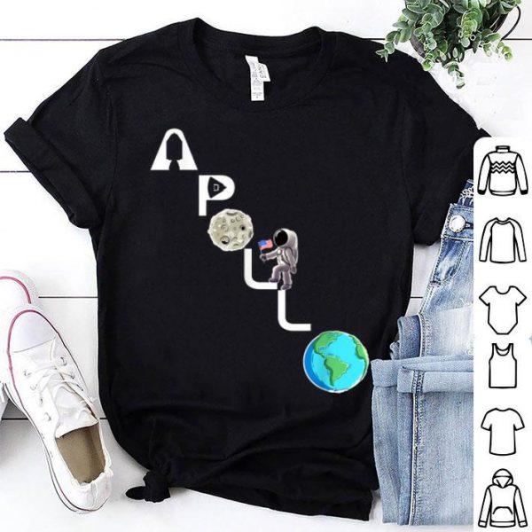 Apollo 11 Climbing Astronaut 50th Anniversary Moon Landing shirt