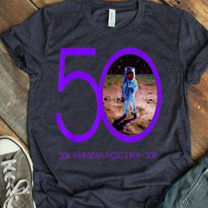 Apollo 11 Moon Landing 50th Anniversary retro color shirt