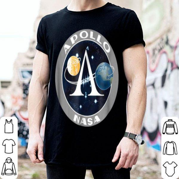Apollo Program Moon Landing Patch Print NASA shirt
