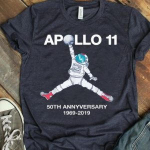 Astronaut Jump 50th Anniversary Apollo 11 Moon Landing First Step On The Moon shirt