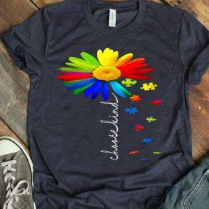 Choose Kind Autism Awareness Daisy Flower Warrior shirt