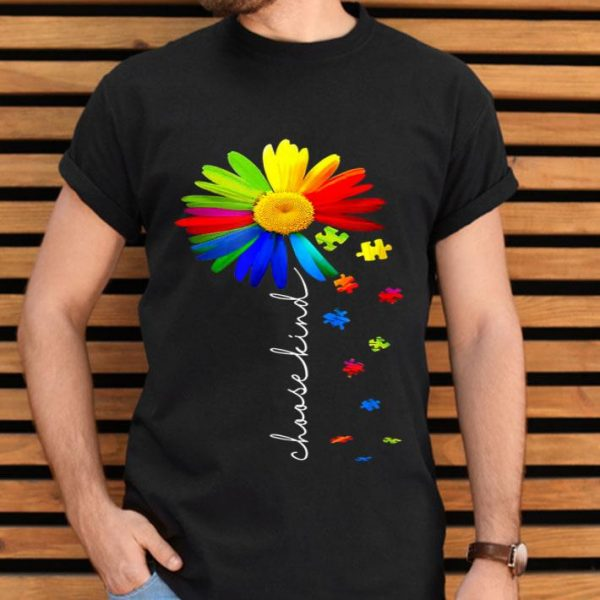 Choose Kind Autism Awareness Daisy Flower Warrior shirt