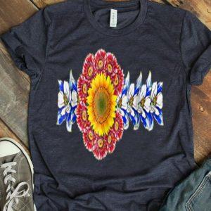 Colorado Flower State Flag Patriotic Day shirt