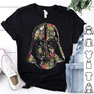 Darth Vader Floral Tropical Hawaiian Flower Bouquet shirt