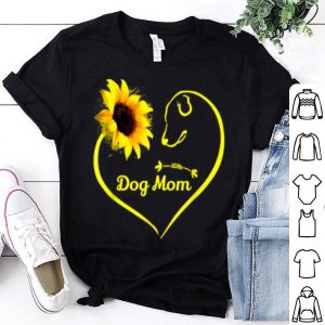Dog Mom Sunflower shirt