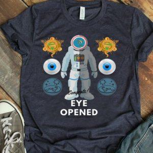 Flat Earth Eye Opened shirt