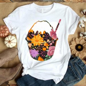 Floral Flower Vintage Retro - Shaved Ice Lover shirt