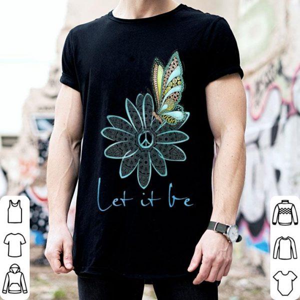 Flower Children For Let It Be Flower Butterfly shirt