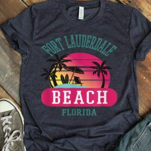Fort Lauderdale Florida Beach Fl Men Women shirt
