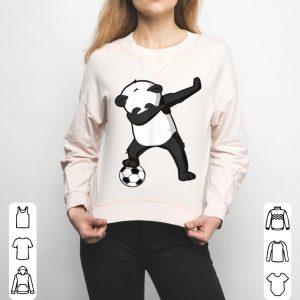 Funny Dabbing Soccer Panda For Boys And Girls shirt