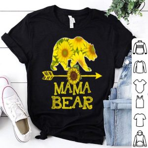 Mama Bear Sunflower Mother Father shirt