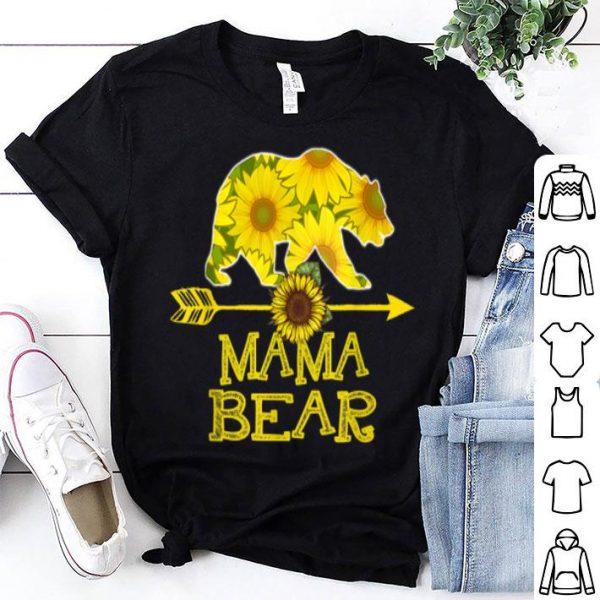 Mama Bear Sunflower Mother Father shirt