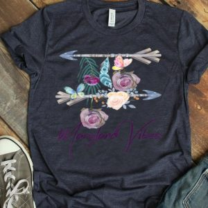 Maryland Vibes Boho Arrow Flower Butterfly shirt