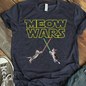 Meow Wars Cats For Cats Lovers shirt
