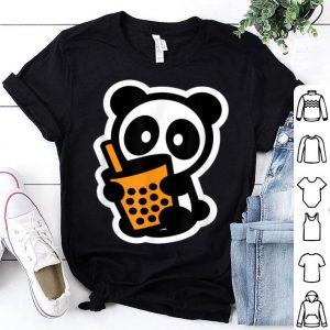 Panda Bubble Tea Boba Bambu Brand Bear Thai Milk Tea Cute shirt