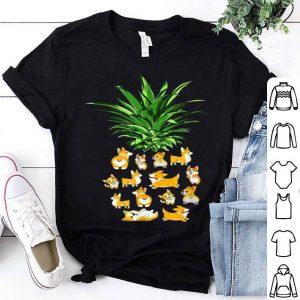 Pineapple Corgi Best Birthday For Corgi Lovers shirt
