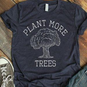 Plant Trees Vintage Earth Day Wildflower Arborist Tree shirt