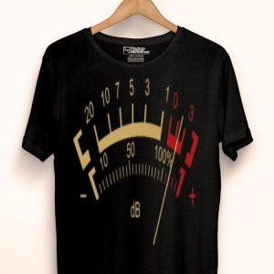 Retro Db Classic Decibel Sound Power Meter Sound And Music Lover Premium shirt