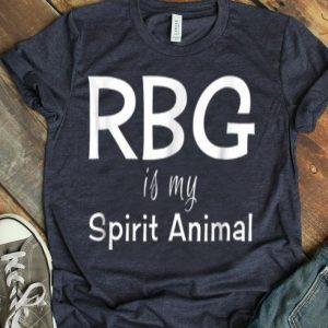 Ruth Bader Ginsburg RBG Is My Spirit Animal Feminist shirt