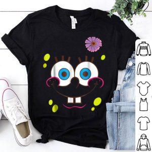 Spongebob Squarepants Flower Face shirt