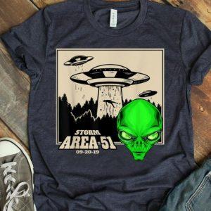 Storm Area 51 UFOs 09-20-19 Kids shirt