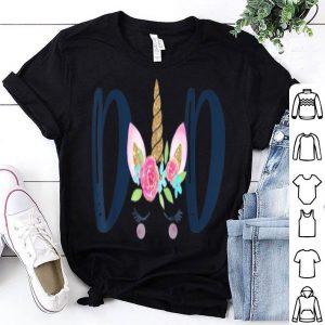 Unicorn Dad Birthday Matching Family Party shirt