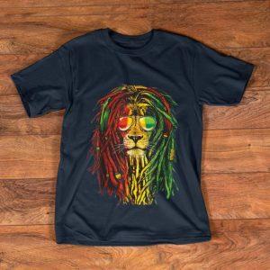 Awesome Bob Marley Rasta New Dreadlock Lion shirt