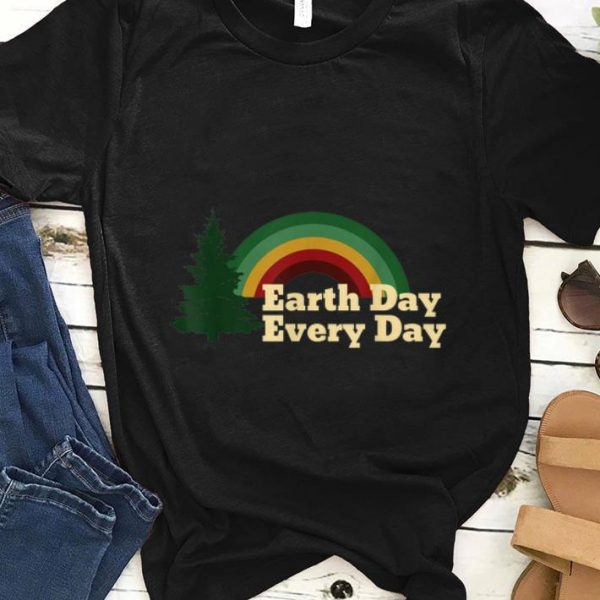 Awesome Earth Day Everyday Rainbow Pine Tree shirt
