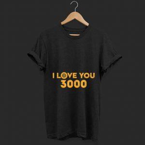 Awesome Marvel Avengers Endgame Iron Man I Love You 3000 shirt