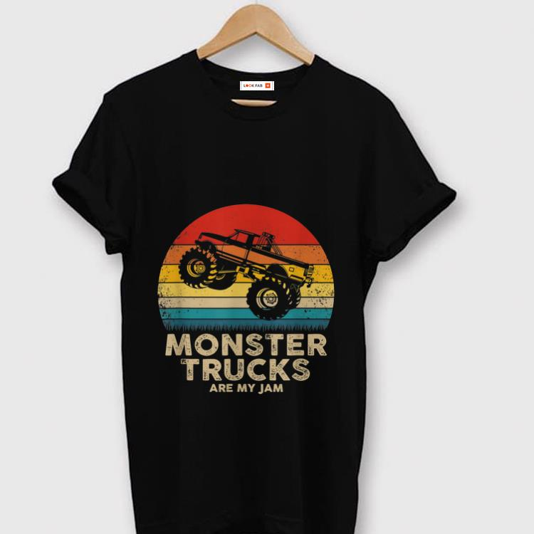 Awesome Monster Truck Are My jam Vintage shirt 1 - Awesome Monster Truck Are My jam Vintage shirt