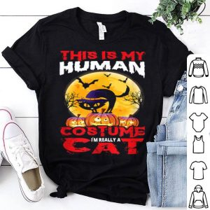 Beautiful Cat Funny Halloween For Boys Girls Kids Adults shirt