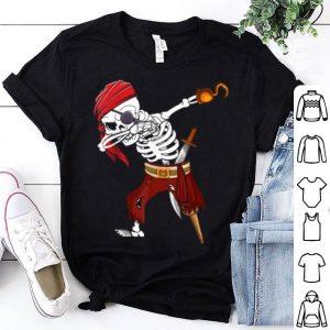 Beautiful Dabbing Skeleton Pirate Halloween Costume Gift For Men Women shirt
