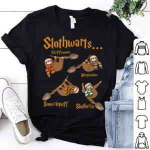 Beautiful Harry Slothwarts Funny Sloth Halloween Costume shirt