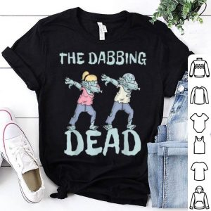 Beautiful The Dabbing Dead Ghouls Mummies Halloween shirt