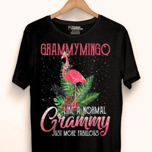 Grammymingo Pink Flamingo Grammy Grandma shirt